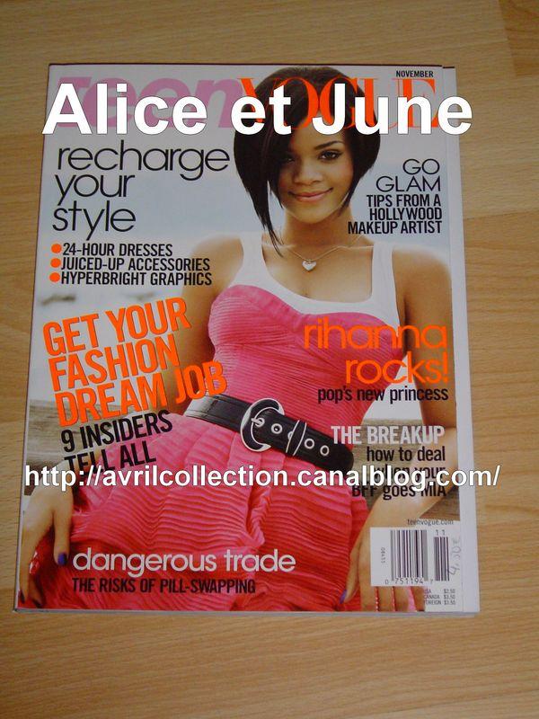 Teen Vogue (novembre 2007)