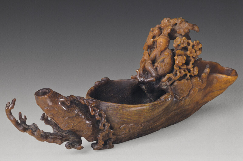 2011_HGK_02893_2913_003(a_very_rare_finely-carved_raft-form_rhinoceros_horn_pouring_waterdropp)