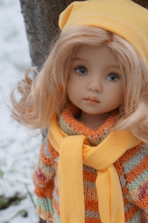 Un petit tour sous la neige avec Pauline de Lana Dobbs !