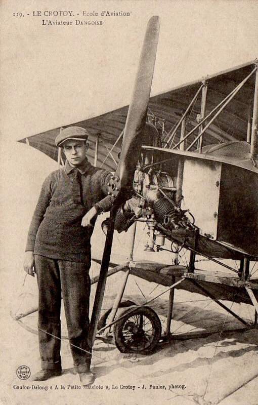 Le Crotoy, un aviateur