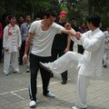 Training in the parks of Zhengzhou