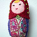 Matrioshka feutrine