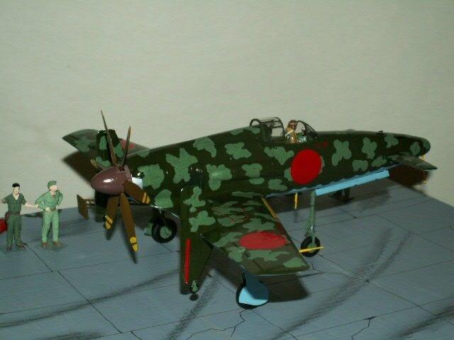 avion Kyushu J7W1 (shinden) finie le 280317 (11)