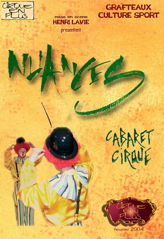 Nuances cabaret cirque