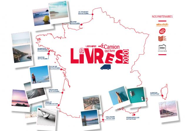 Retour du « Camion qui livre » sur les plages françaises