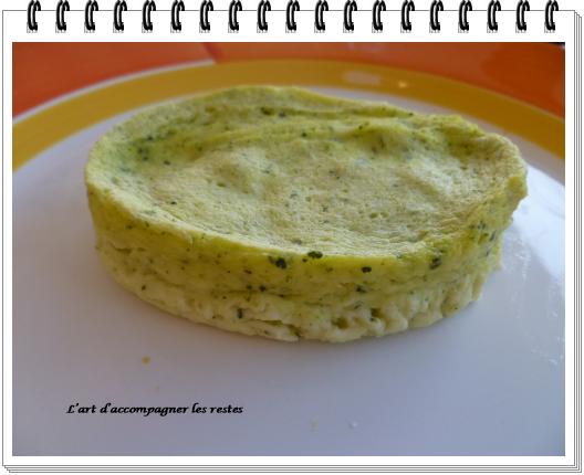 Timbale de courgette au parmesan ww2