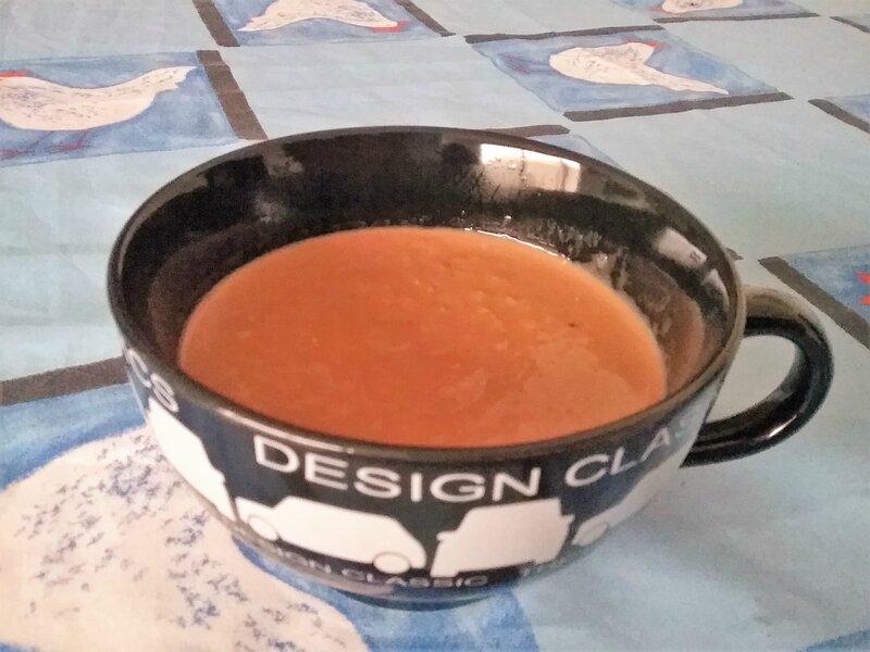 Crème d'avoine au chocolat