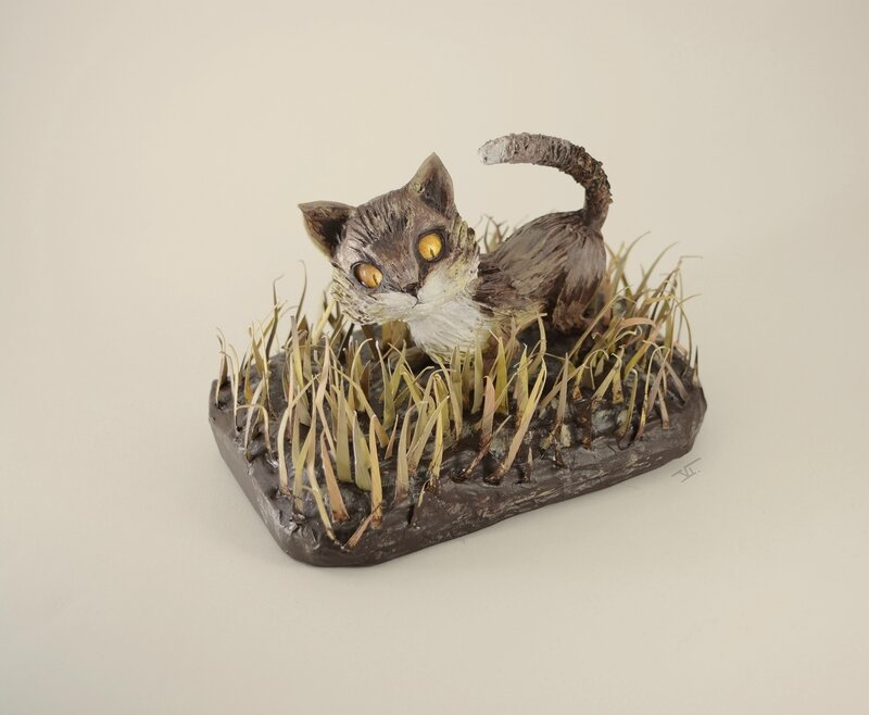 chat herbe3