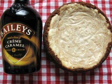 Cheesecake marbré au Bailey's - Les délices de Lulu