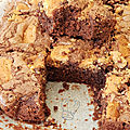 Brownie aux cookies