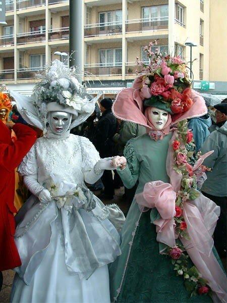 Carnaval Vénitien d'Annecy organisé par ARIA Association Rencontres Italie-Annecy (68)