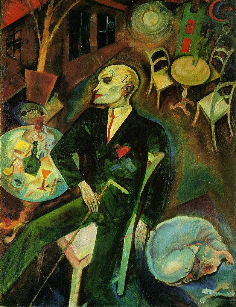 George Grosz, Le malade d'amour