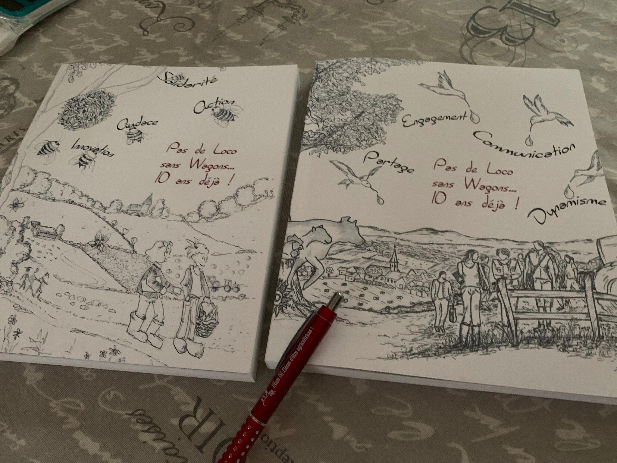 """Pour commander nos ouvrages : """"Je suis agricultrice aujourd'hui"""" """"De Mal de Terre à Cap Mieux-être"""" """"Pas de Loco sans Wagons"""""""