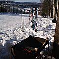 plantage de ski en règle