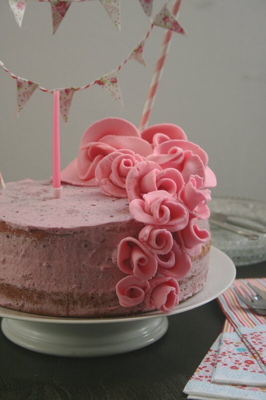 Nacked cake tout rose - Passion culinaire 3