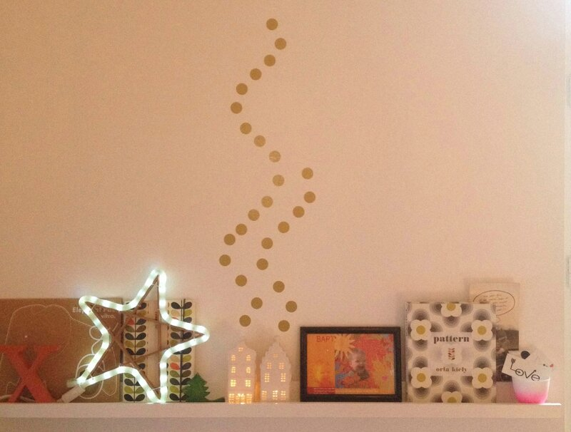 Studio Jolis mômes-stikers gold-carnet Orla Kiely