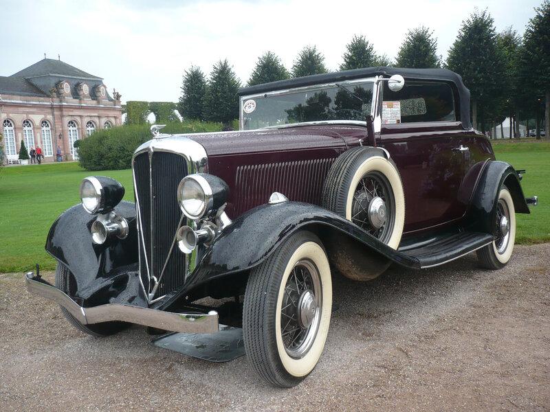 ROCKNE 10 roadster Deluxe 1933 Schwetzingen (1)