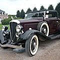 Rockne 10 roadster deluxe 1933