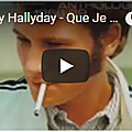 Que je t'aime - johnny hallyday (partition - sheet music)