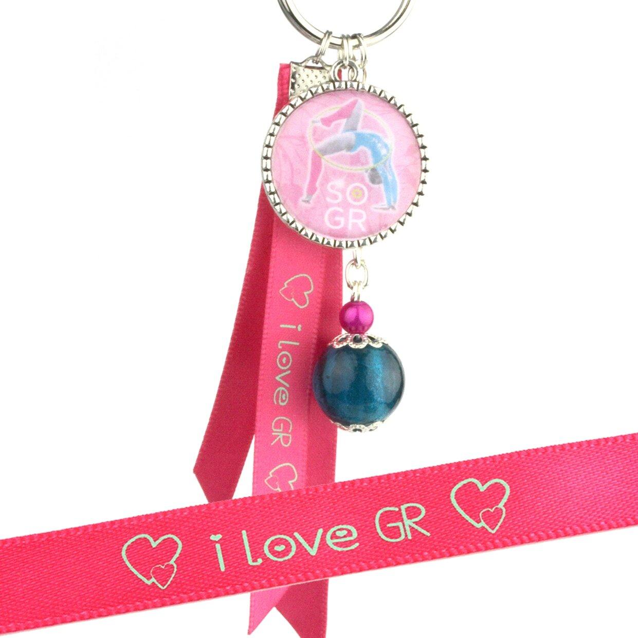 porte cles GR rose rose 3