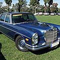 Mercedes benz 300 sel version us, 1968 à 1972