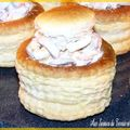 Vol-au-vent de fruits de mer au boursin