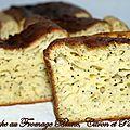 Cake au fromage blanc , citron et pavot