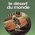 Le desert du monde - jean-pierre andrevon