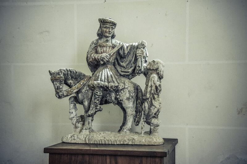 Vie de saint Martin Ecuillé. Le château du Plessis-Bourré