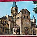 Paray le Monial - Basilique et son abside