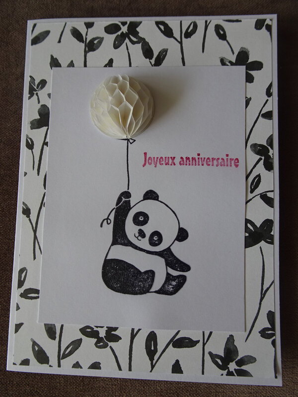 29a Carte Panda verni