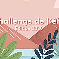 Challenge de l'été 2020