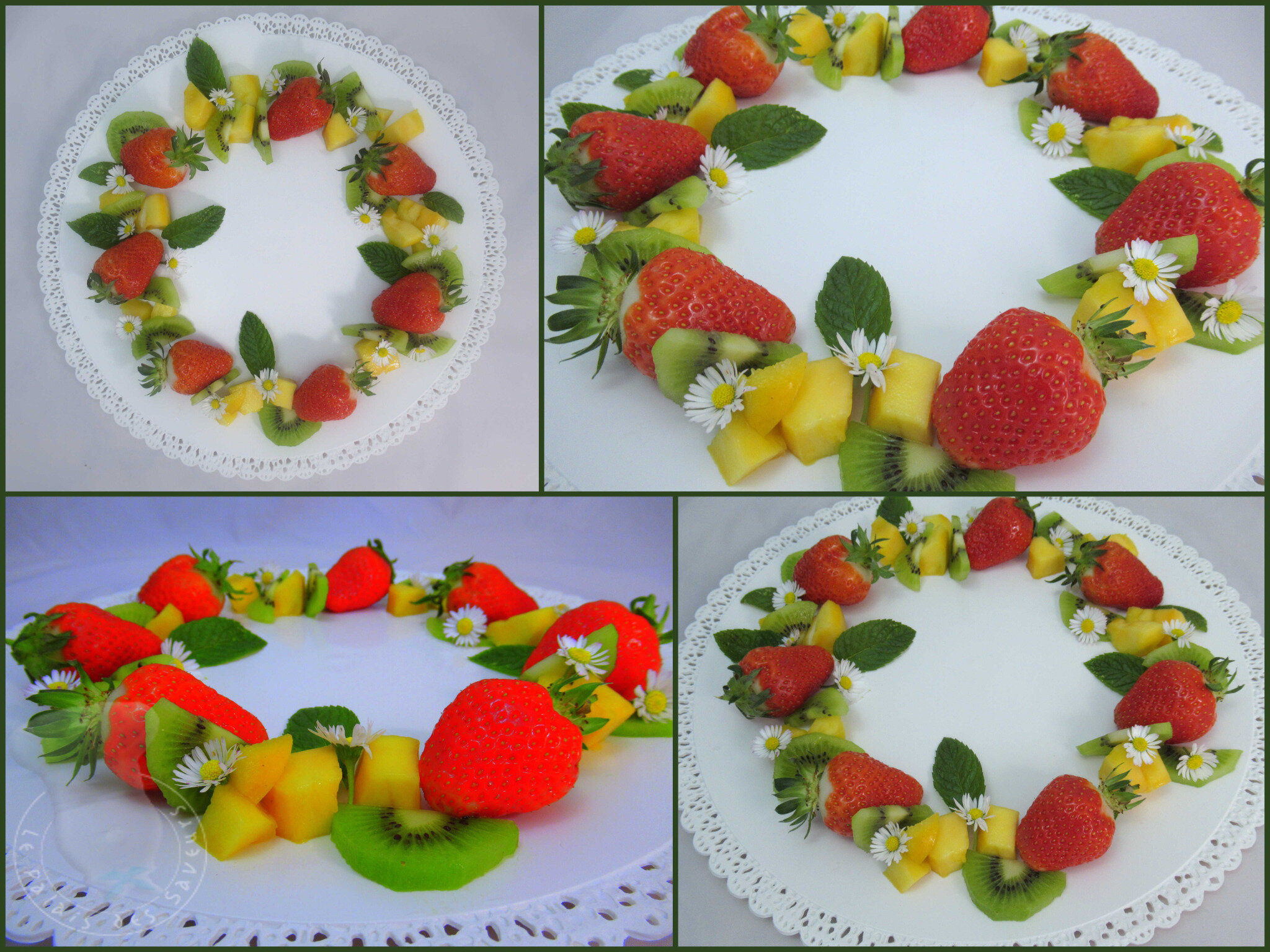 Couronne de fruits