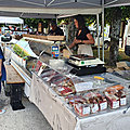 Photos du marché nocturne de sougères en puisaye le 20/08/21