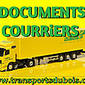 DOCUMENTS & COURRIERS.