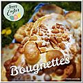 Bougnettes catalanes d'hélène ou bunyetes au i-cook'in