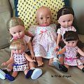 Mes poupées... présentation...