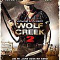 Wolf creek 2 (mick taylor est de retour)