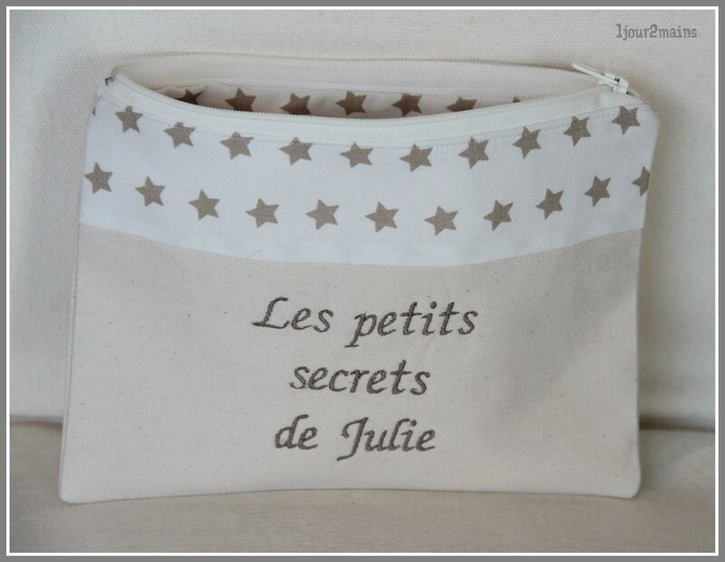 trousse secret Julie