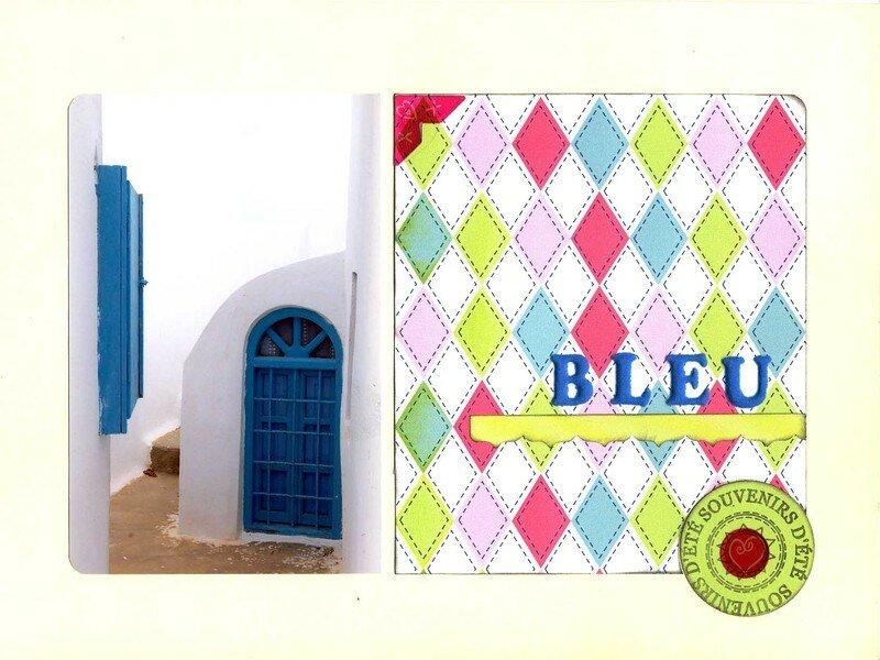 Iles grecques (2) Bleu