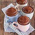 Le mugcake, la gourmandise express !