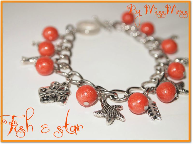 Bracelet fish and star