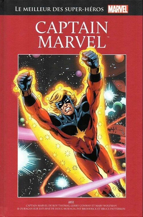 hachette 25 captain marvel