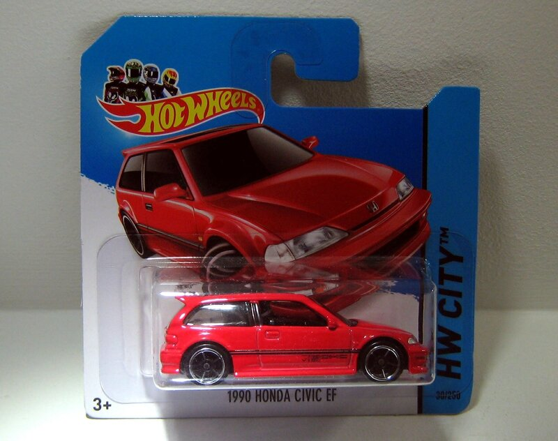 Honda civic EF (2014)(Hotwheels)