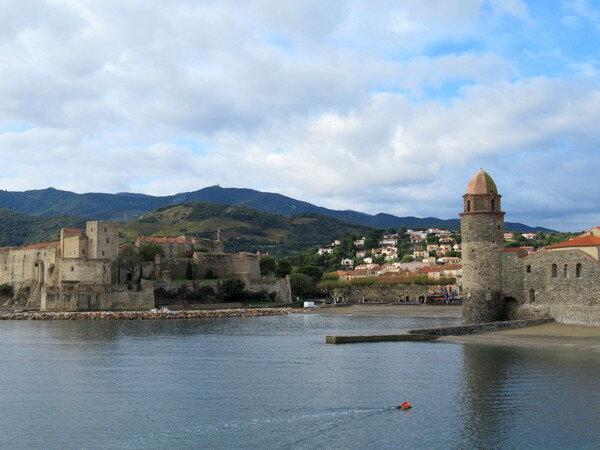 201911 Collioure entre château et tour