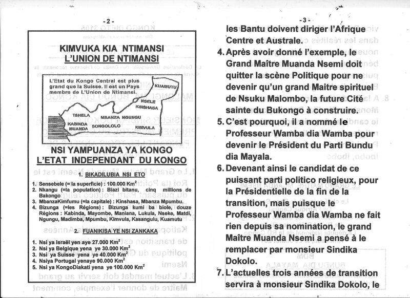 MONSIEUR SINDIKA DOKOLO LE VICE PREMIER MINISTRE DU CONGO RDC b