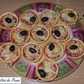 Mini-pizzas aperos