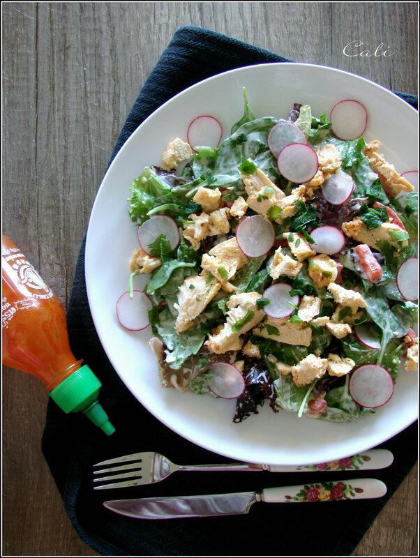 Salade Sriracha au Poulet 001