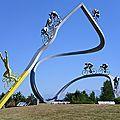 Tour de france 2012 - etape samatan à pau - etape pau à bagnères de luchon - programme - arrivée du tour 16 juillet