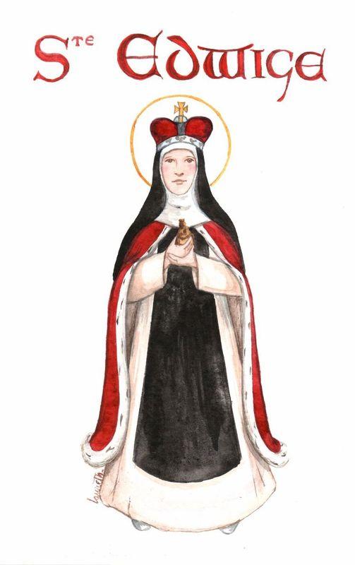 sainte Edwige de Silésie